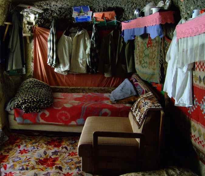 Cappadocia cave bedroom