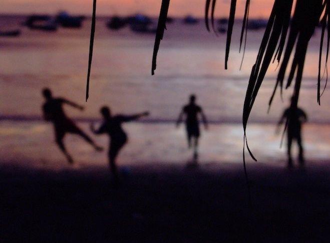 Sunset Soccer in San Juan del Sur