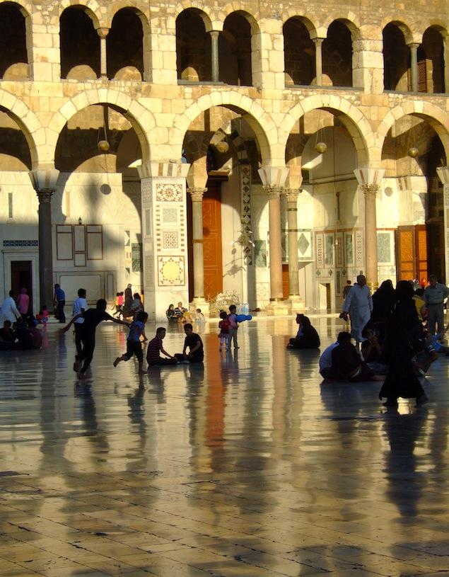 Umayyad Mosque--Damascus, Syria