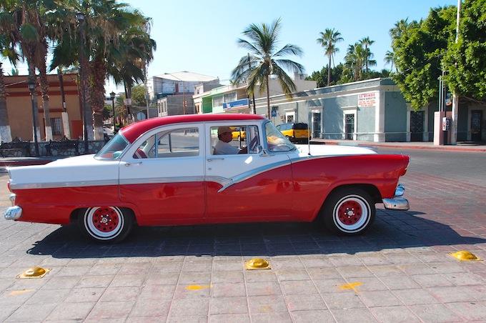 Classic Car, La Paz, Baja