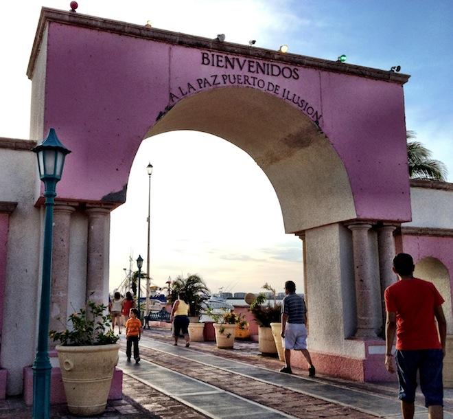 La Paz Illusion Arch
