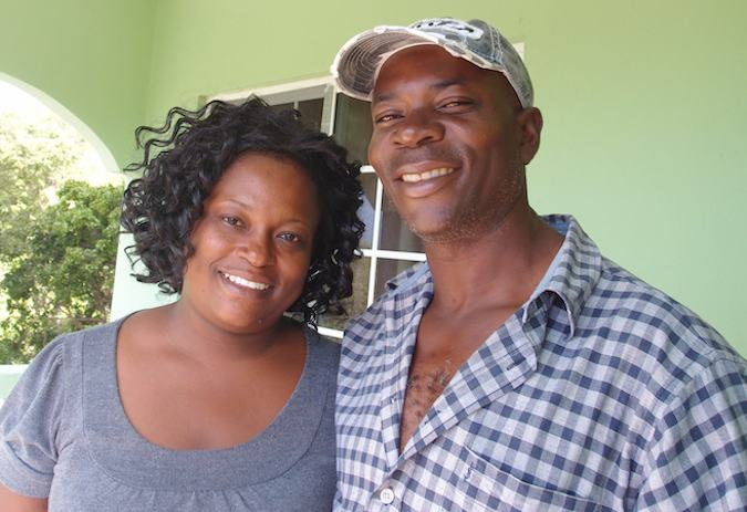 Couple who taught me Patois