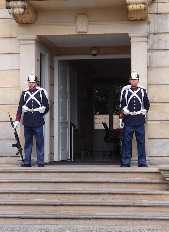 Presidential Palace Guards Bogotá