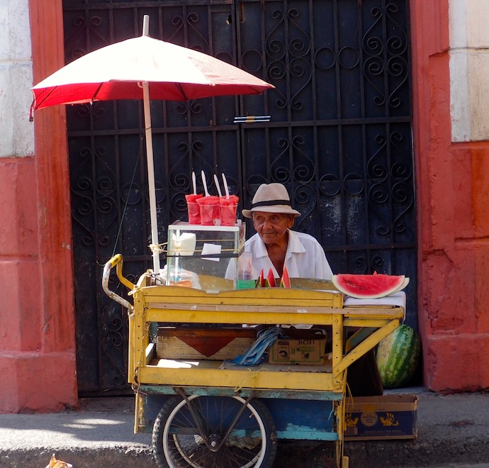Watermelon vendor, Cartegena
